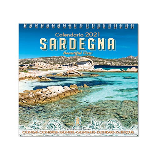 Calendario da tavolo Sardegna 2021 f.to 11 x 11 cm (mod.01)
