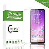 PaceBid [2 Pack Protector de Pantalla para Motorola One Vision, [Dureza 9H] [Anti-Arañazos] [Anti-Huellas] Cristal Vidrio Templado Premium para Motorola One Vision
