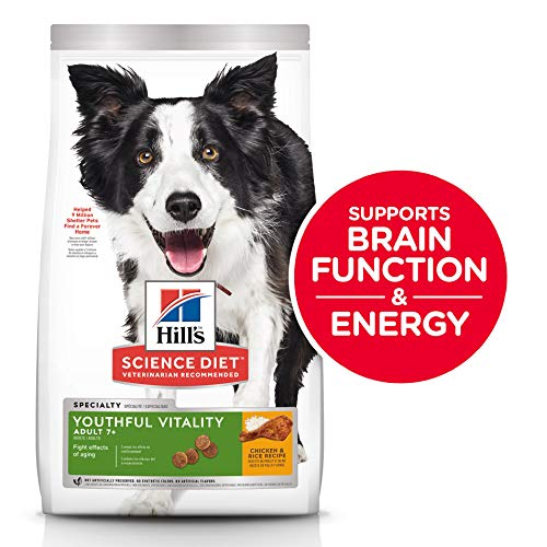 Hill's Science Diet Dry Dog Food, Adult 7+...