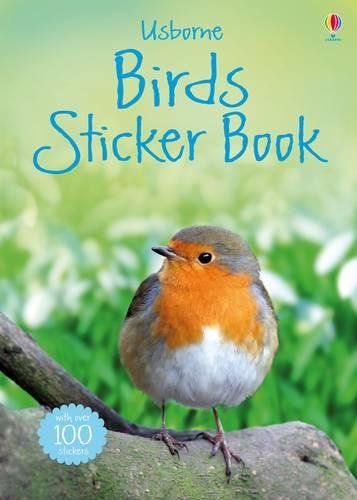 Clarke, P: Birds Sticker Book (Usborne Spotters Sticker Guide)