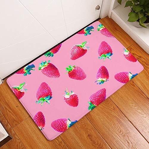 OPLJ Tapis de Sol Tapis de Cuisine imprimé Fruits Tatami décoration de la Maison Tapis de Salle de Bain Tapis de Bain Tapis de Toilette A9 50x80 cm