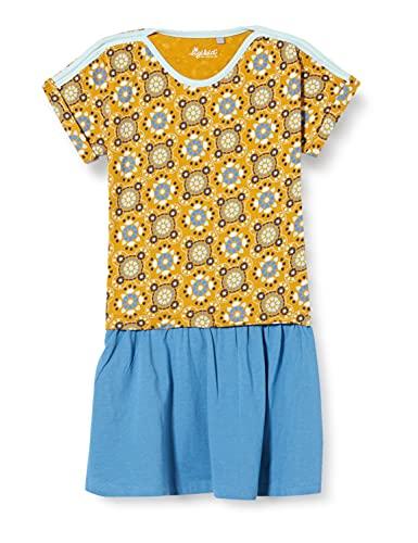 Sigikid Mädchen Mini Kleid aus Bio-Baumwolle für Kinder Kinderkleid, Mehrfarbig/Muster_2, 104