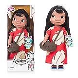 Officiel Disney Lilo & Stitch 40cm Lilo animateur poupÃÂe à peluche Scrump