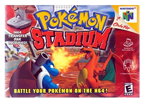 Pokémon Stadium - with Game Boy Transfer Pack (N64) [Nintendo 64] …