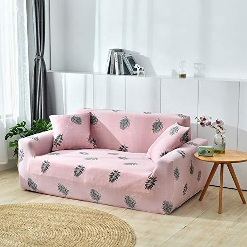 weichuang Funda de sofá de flores impresas fundas de sofá para sala de estar proteger el sofá de mascotas cubierta de sofá para la esquina seccional sofá elástico spandex cubre sofá cubierta de sofá