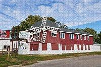 コスタリカラフォルトゥナ滝ラフォルトゥナ大人のためのジグソーパズル1000ピース木製トラベルギフトお土産-Pt-00551