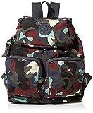 Kipling Women's Elijah Backpack, CAMO LEATHER fem, One Size