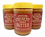 Trader Joe's Speculoos Crunchy Cookie Butter,NET.WT.14.1oz(3 Jars)