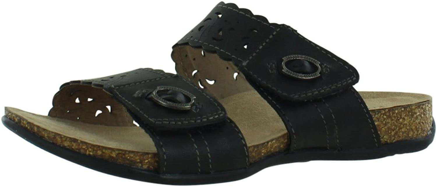 Earth Origins Womens Strappy Sandals Size 12 M Tessa Black Burnished Calf