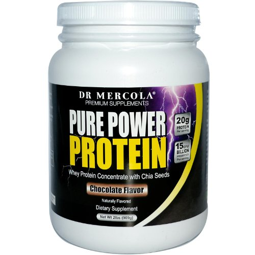 Dr. Mercola: Chocolate Pure Power Protein 2 lb