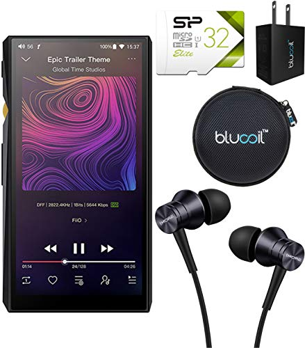 FiiO M11 HiFi Lossless Music Player with Bluetooth 4.2 Connectivity Bundle with...