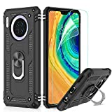 LeYi for Huawei Mate 30 Case with Magnetic Ring Holder,