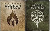 The Maze Runner Steelbook & Maze Runner: The Scorch Trials DVD [Includes Digital Copy] [Blu-ray] [Steelbook] Double