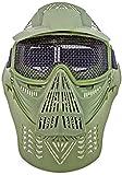 Nerd Clear Softair Schutz Maske Metall Gitter -
