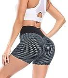 Lalamelon Pantalones Cortos Mujer Sexy Push up Mallas Cortas Deportivas de Cintura Alta Leggings Shorts...