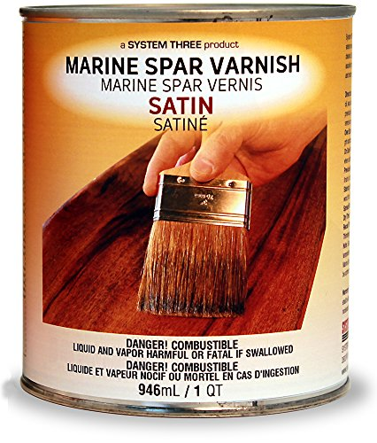 System Three 1855S16 Clear Marine Spar Urethane Varnish Coating