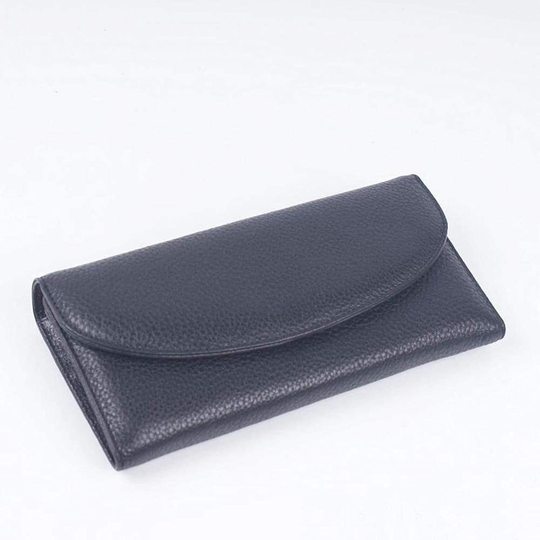 Girls Purse Women's Wallet Head Layer Cowhide MultiCard Holding Bag Lady LargeCapacity Wallet