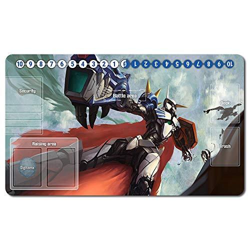 459569de - Digimon Spielematten , Digimon playmat Brettspiel Digimon Mouse pad MTG Playmat Tischmatte Spiele Größe 60X35 cm Mousepad Spielmatte für TCG CCG Yugioh Digimon Magic The Gathering
