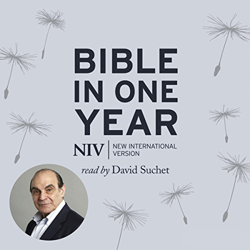 NIV Audio Bible in One Year Read by David Suchet cover art