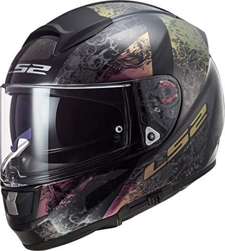 LS2 FF397 Vector Evo Swipe Helm Bunt XXS (51/52)