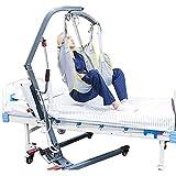LHZHG Arnés Elevación Paciente Cuerpo Completo, Grúa de Paciente, Eslinga De Elevación con Accesorios De Bucle,para Posicionamiento Y Elevación De La Cama,Enfermería, Fácil de Usar