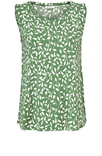 Masai Clothing Oberteil Elisa Green Leaf Gr. Small, Elg