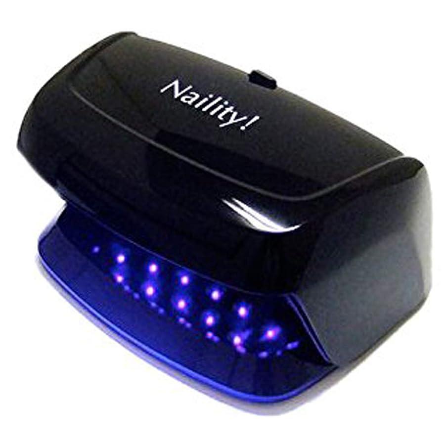 したいストリーム単独でネイリティ!  LEDライト 3W ブラック