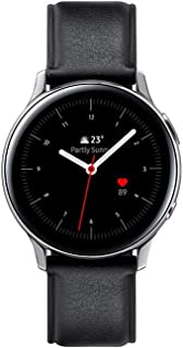 Samsung – Armbandsur Galaxy Watch Active 2 4G – stål 40 mm – glacisilver – fransk version