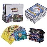 324Pcs Pokemon Cartes, Pokemon 36Pcs GX Cards, Sun & Moon Series, Celestial Storm Series