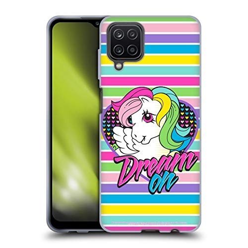 Head Case Designs Officially Licensed My Little Pony Retro Dream On Pop Soft Gel Case Compatible with Samsung Galaxy A12 (2020)