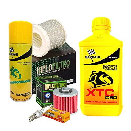 mantenimiento YSM 15W50filtro de aceite aire velas Spray ángel con circonitas