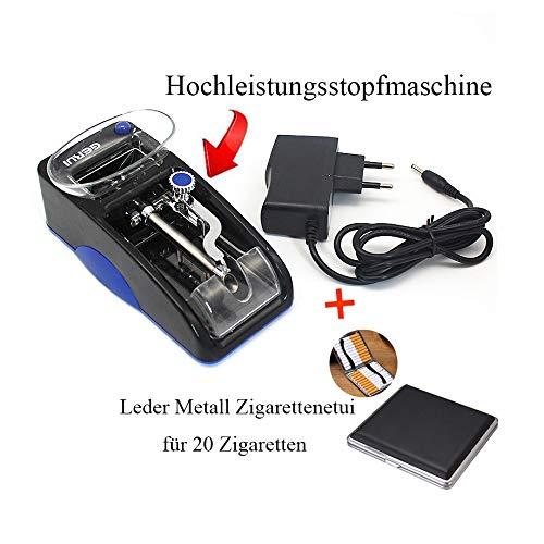 TUHFG Vollautomatische Elektrische Kleine Haushalt Kreative Tragbare Hochleistungsautomatik Upgrade Der Zweiten Generation,Blue