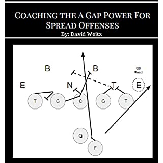 Coaching the a Gap Power for Spread Offenses: Ignite Your Offense with the Most Physical Blocking Scheme in Football audiobook cover art
