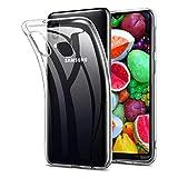 Funda para Samsung Galaxy A20E, protección contra caídas, antideslizante, TPU con Samsung Galaxy A20E, funda ultra fina para Samsung Galaxy A20E (transparente)