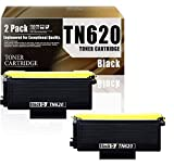 TN620/TN-620(2-Pack Black) Compatible Ink Cartridge Replacement for Brother HL-5240 HL-5250DN/DNT HL-5380DN MFC-8370 MFC-8480DN DCP-8060 Printers Toner Cartridge.