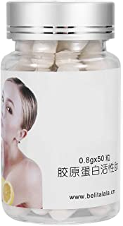 50 stks/set Collageen Capsule Gezonde Huid Whitening Anti-rimpel Anti Aging Collageen Gezichtsmasker Capsule