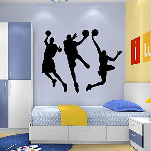 Tianpengyuanshuai Sport Muursticker Basketbal Speler Sticker Home Textiel Basketball Muurtattoos Kinderkamer