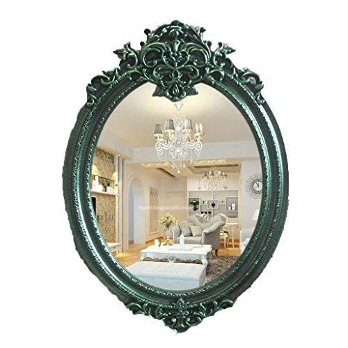 ShiSyan Espejo de maquillaje espejo de maquillaje llevado a 10x de aumento de maquillaje Espejo con luz, rotación de 360 grados con carrera ajustable del cuello de cisne espejo compacto con fuerte v