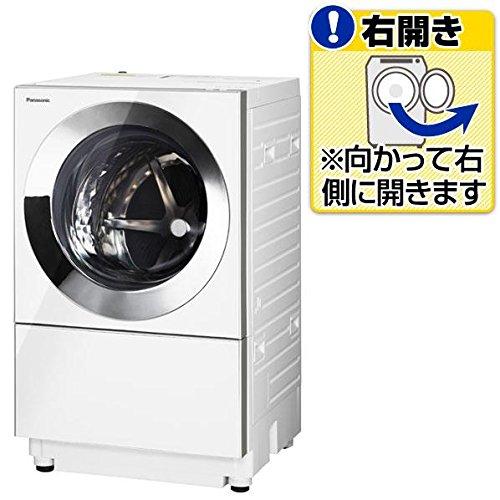 パナソニック 【右開き】10.0kgドラム式洗濯機(3.0kg乾燥付き) Cuble シルバー NA-VG1000R-S