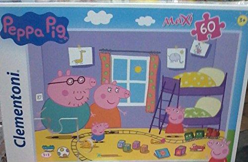 Clementoni Peppa Pig Supercolor Puzzle, 24 Pezzi, 24028