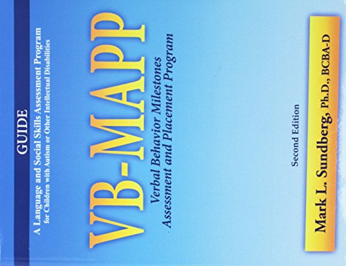VB-MAPP Verbal Behavior Milestones Assessment and Placement Program, 2nd Ed A Language and Social Sk