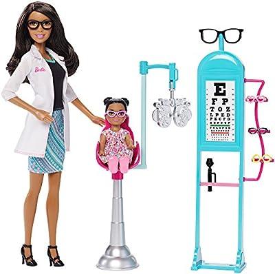 Barbie Careers Eye Doctor Doll and Playset