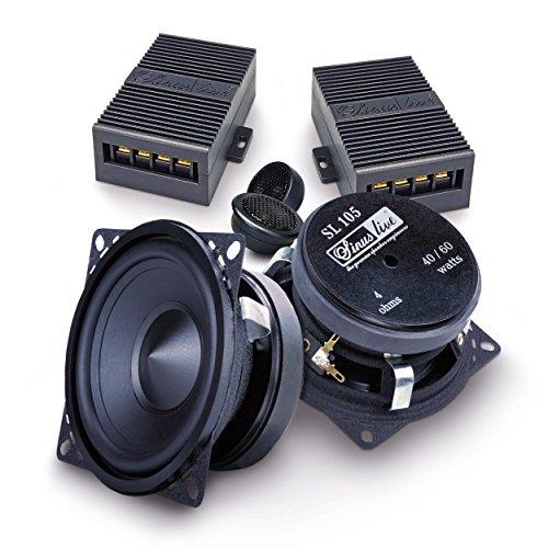 Sinuslive SL-105 10cm 2-Wege Lautsprecher System