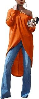 Women's Casual Basic Blouse Short Sleeve Drawstring Summer High Low Shirt Blouse Top