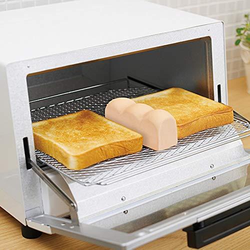 冷凍したパンは作りたてに比べて水分が減りがちです。そんな冷凍パンを美味しく焼くお手伝いをしてくれるのがトーストスチーマーです。パンと一緒にトースターに入れることで、水蒸気を放出してパンをしっとりと焼き上げてくれます。