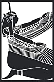 Egyptian Goddess Maat Notebook: A 120 Pages Premium College Lined Notebook for Work, School or Writing - Great Journal For Women, Men or Kids - Elegant Notebook for Writing Random Thoughts.