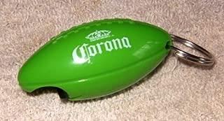 Corona Beer Football Bottle Opener & Keychain