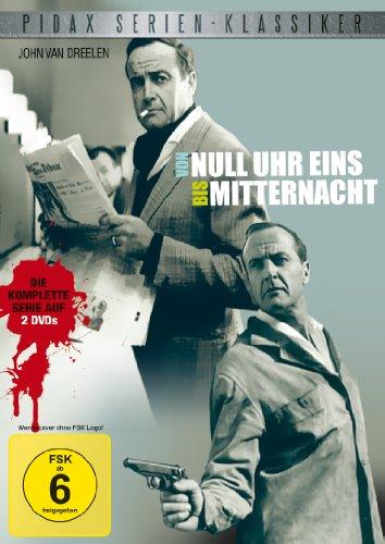 Pidax Serien-Klassiker: Von null Uhr eins bis Mitternacht - Die komplette 13-teilige Krimiserie [2 DVDs]