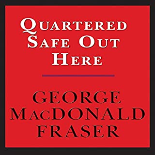 Quartered Safe Out Here audiobook cover art