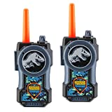 Jurassic World Fallen Kingdom FRS Walkie Talkies for Kids Long Range Static Free Kid Friendly Easy to Use 2 Way Walkie Talkies Packaging